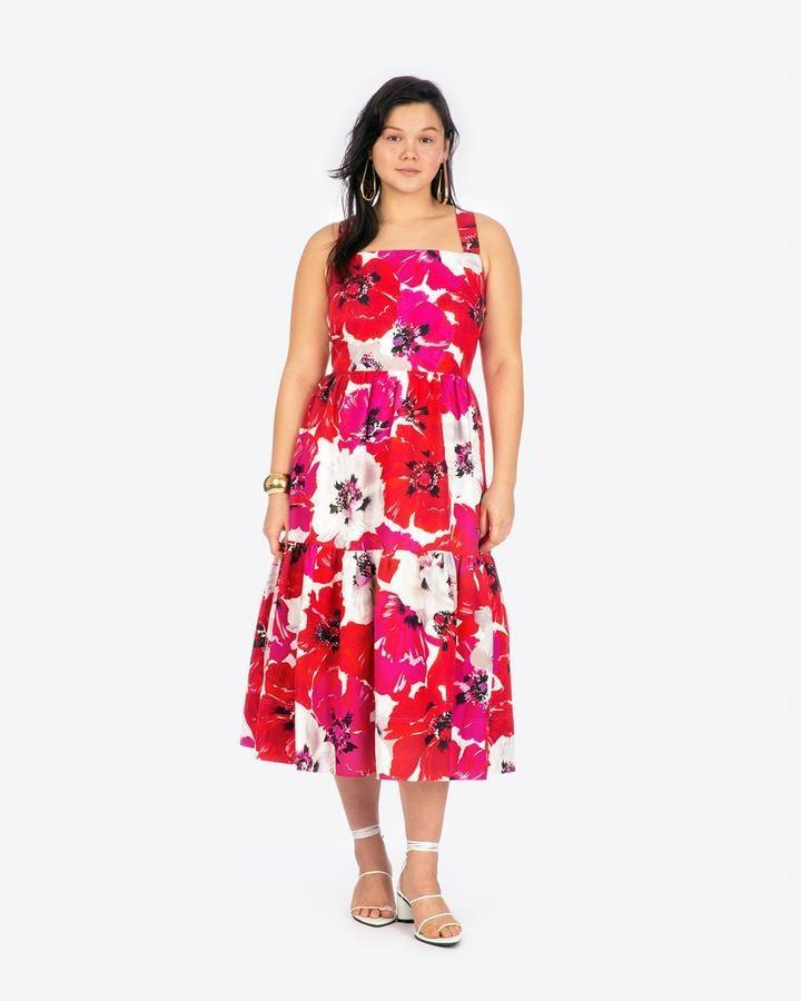 <p>The pattern of this <span>Tanya Taylor Gia Dress</span> ($545) instantly makes us smile.</p>