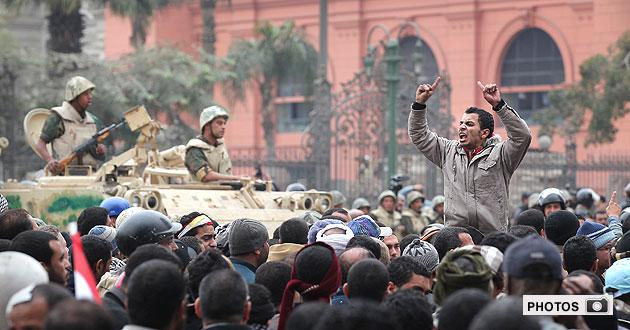 Gallery: Egypt in chaos