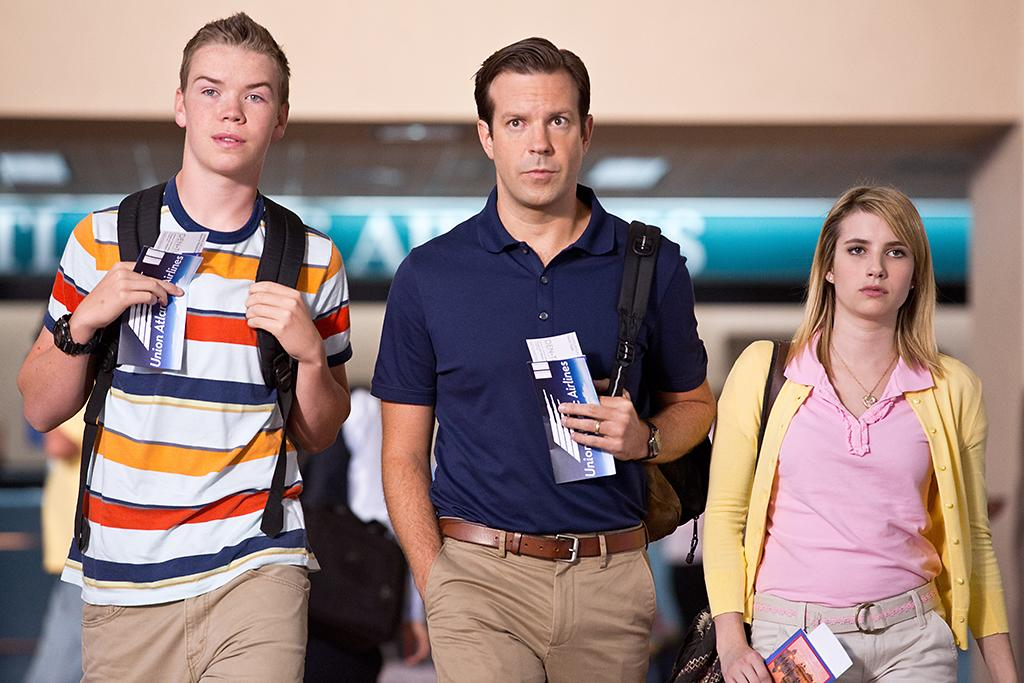 """Emma Roberts and Jason Sudeikis in Warner Bros.' """"We're The Millers"""" - 2013"""