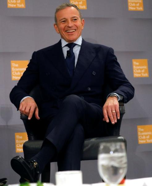 Robert Iger, Chairman and CEO at The Walt Disney Company speaks to the Economic Club of New York