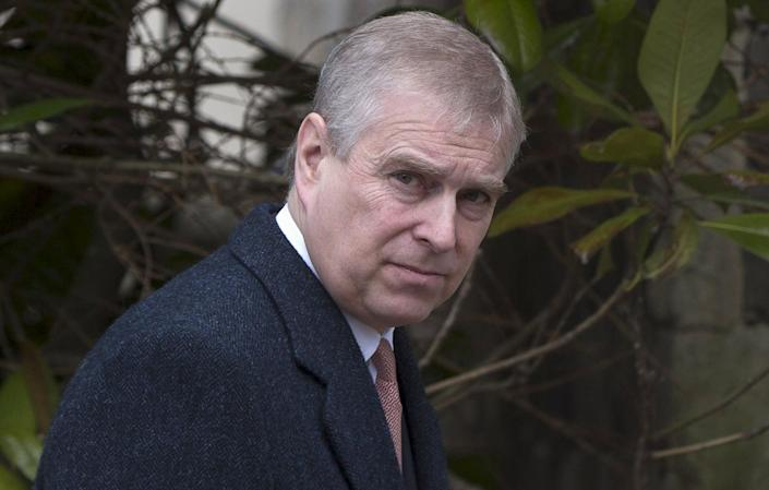 The High Court in London has agreed to serve Prince Andrew notice of the civil case brought against him in New York by Epstein accuser Virginia Giuffre.   (PA)