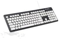<p>If he likes to eat lunch at his desk, he will definitely like this <span>Washable Keyboard</span> ($128). It's easy to clean ad ultra-durable.</p>