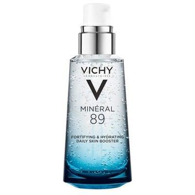 <p>One pump of the <span>Vichy Mineral 89 Fortifying Hydrating Daily Skin Booster</span> ($30) will nourish your face to new heights. It is rich in hyaluronic acid and mineral water to hydrate every layer of your skin.</p>