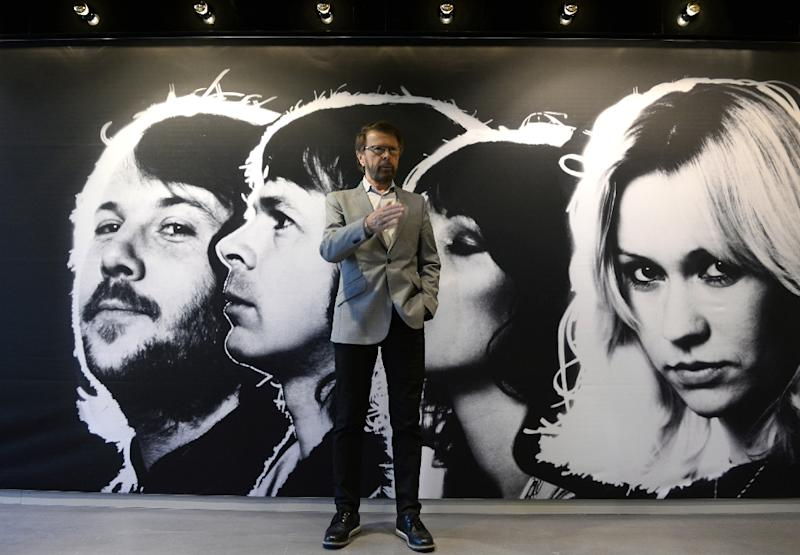 ABBA member Bjorn Kristian Ulvaeus poses at the world's first permanent ABBA museum