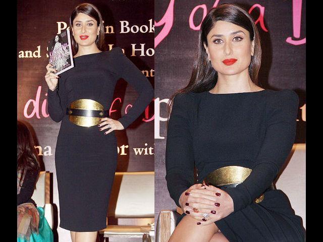 The book has Kareena's take on styling and has been published by Shobhaa De Books and Penguin India.