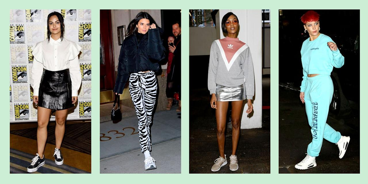 "<p>The athleisure trend isn't going anywhere – and why would it? It's eternally comfy, but still stylish and cool. <a href=""https://www.seventeen.com/fashion/trends/g27419195/leggings-outfits-ideas/"" target=""_blank"">Leggings as pants</a>? Ummmm YES, please. </p><p> If you need help on how to wear athleisure outside of the gym (read: you don't want to look like you just came from spin class), just keep on scrolling, because your favorite celebs have got it all figured out. There are plenty of ways to give your favorite sweatpants a little edge.  Read on for all the best <a href=""https://www.seventeen.com/fashion/style-advice/g708/cute-jogger-sweatpants/"" target=""_blank"">athleisure outfit ideas</a>.</p>"