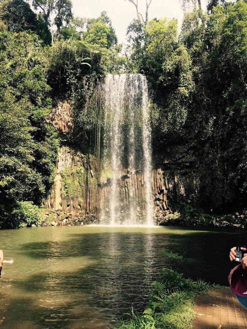 Some say this is the most photographed waterfall in Australia: Millaa Millaa Falls. Photo: Be