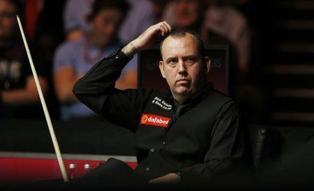 Snooker - Dafabet Masters - Alexandra Palace - 12/1/16 Mark Williams during the first round Mandatory Credit: Action Images / Peter Cziborra Livepic