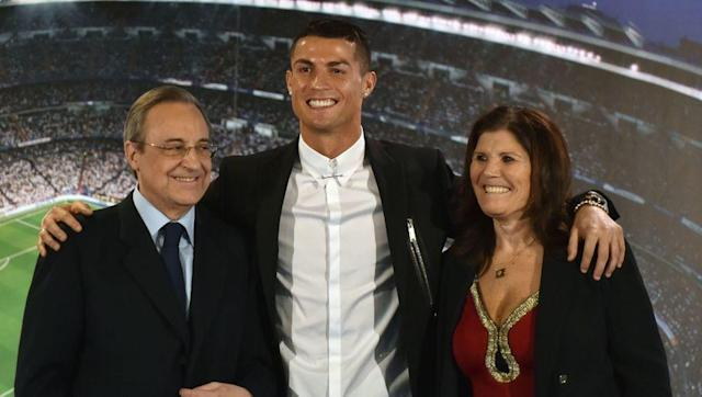 <p>Another player who may be spoken about in a bad light because of his self-indulgence, yet Cristiano Ronaldo always puts himself second when it comes to his dear mother Maria, who is often seen alongside her beaming son.</p> <br><p>The four time Ballon d'Or winner even brought his mum along for his latest contract renewal, with Real Madrid president Florentino Perez awkwardly posing next to the mother and son duo.</p>
