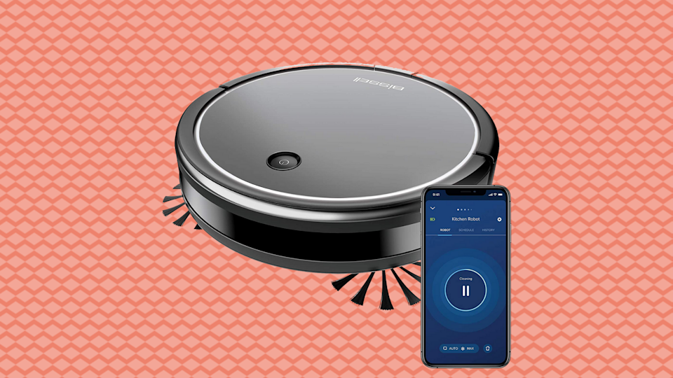 Save 33 percent on the Bissell CleanView Connect Robotic Vacuum. (Photo: Amazon)