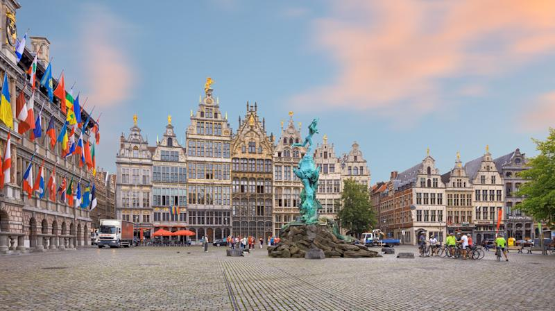The main square in Antwerp - Credit: lena_serditova - Fotolia