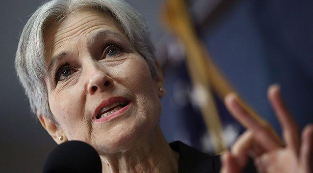 Jill Stein's Green Party raised the money to challenge the vote count. Photo: Getty Images