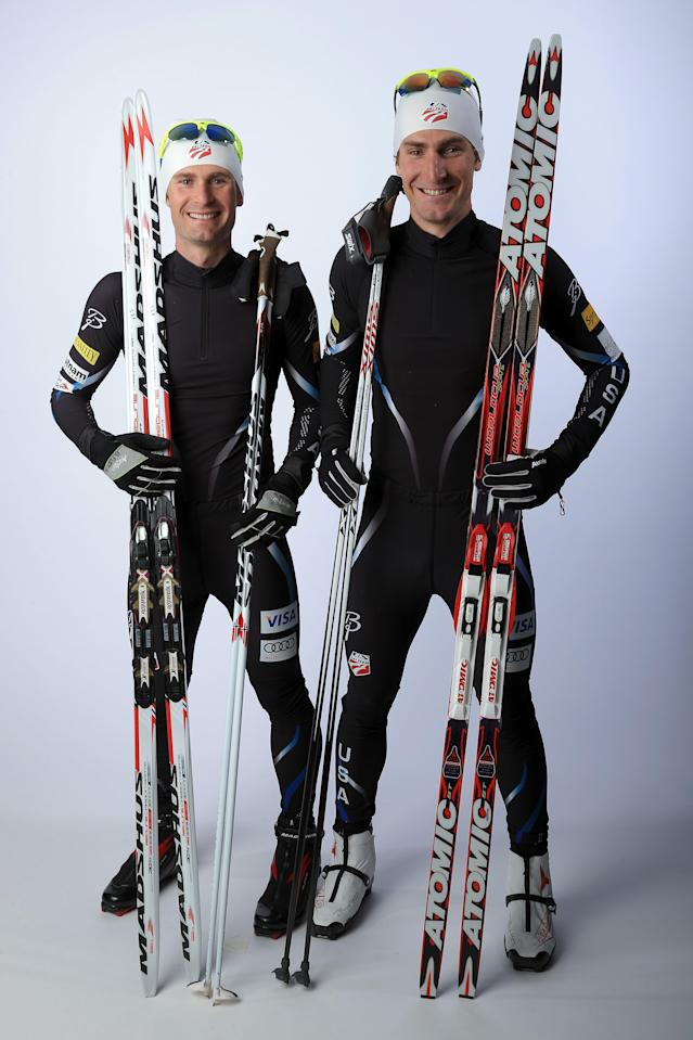 <p>The Fletcher brothers are competing together for their second straight Winter Olympics. Bryan, a childhood cancer survivor, is a two-time Olympian, while Taylor returns for his third Olympic Games.<br> (Photo by Doug Pensinger/Getty Images) </p>