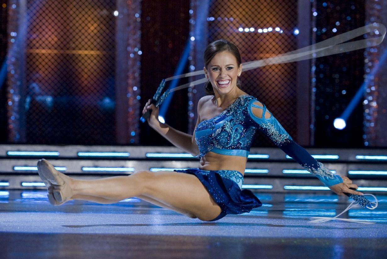 This Jan. 12, 2012 photo provided by Miss America shows, Miss Hawaii, Lauren Cheape jumping rope and topped the contestants in the third round of the Miss America talent competition in Las Vegas, on Thur. Jan.12,2012. The finals are Saturday at the Planet Hollywood Resort & Casino. (AP Photo Miss America)