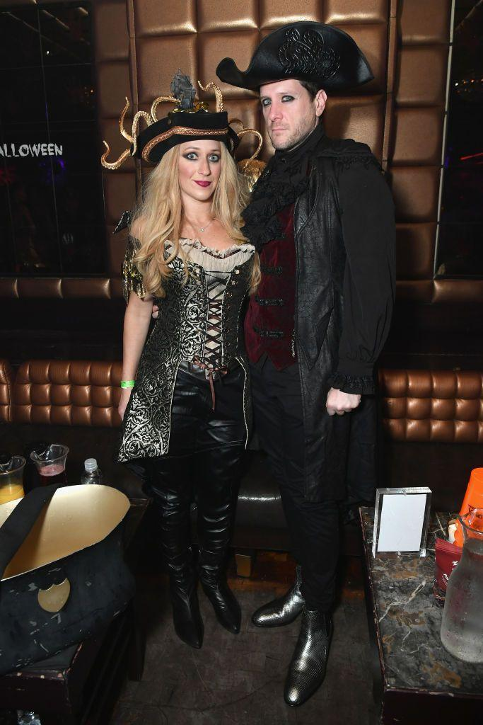 <p>Tbh, I'm not totally sure what Wendy Lerman and her husband Howard (founder of Yext) are wearing, but I'm guessing it's some kind of take on the <em>Pirates of the Caribbean</em> series. Regardless, they looked great (and eye-lined to perfection) at Heidi Klum's Halloween throwdown in 2018.</p>