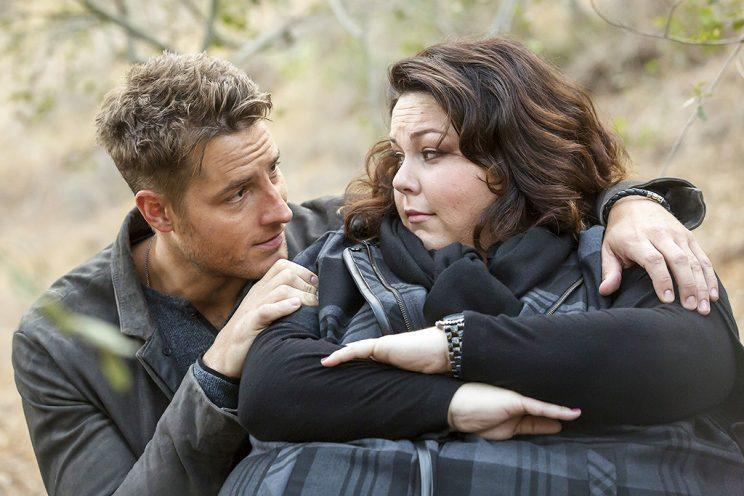 Justin Hartley as Kevin and Chrissy Metz as Kate (Credit: Ron Batzdorff/NBC)