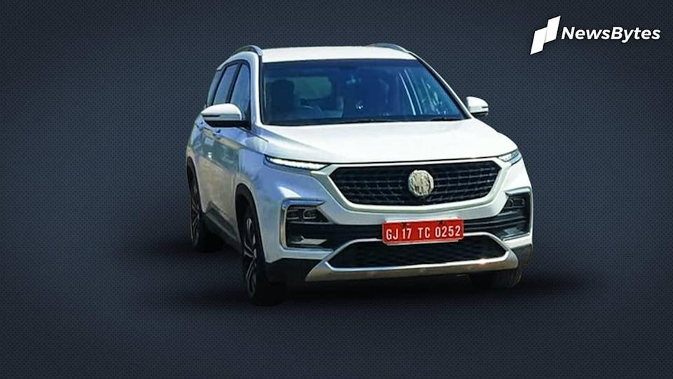 Ahead of launch, MG Hector