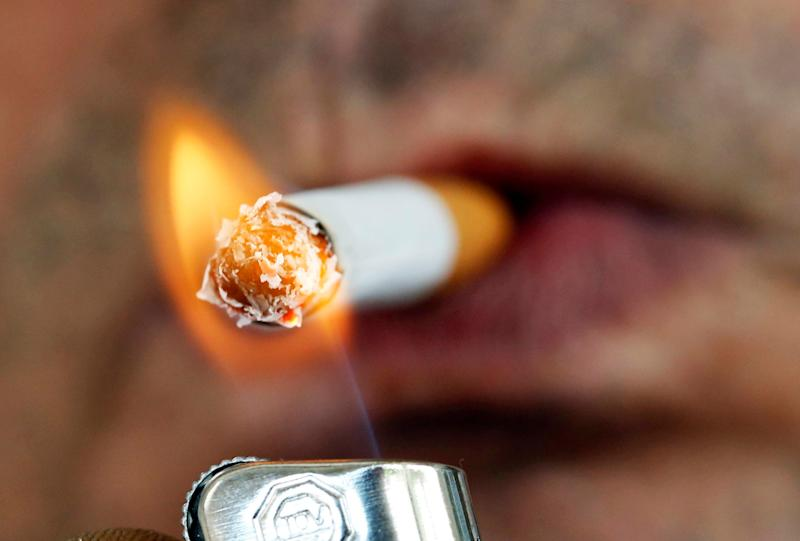 The government wants to get rid of smoking by 2030 (Picture: Reuters)