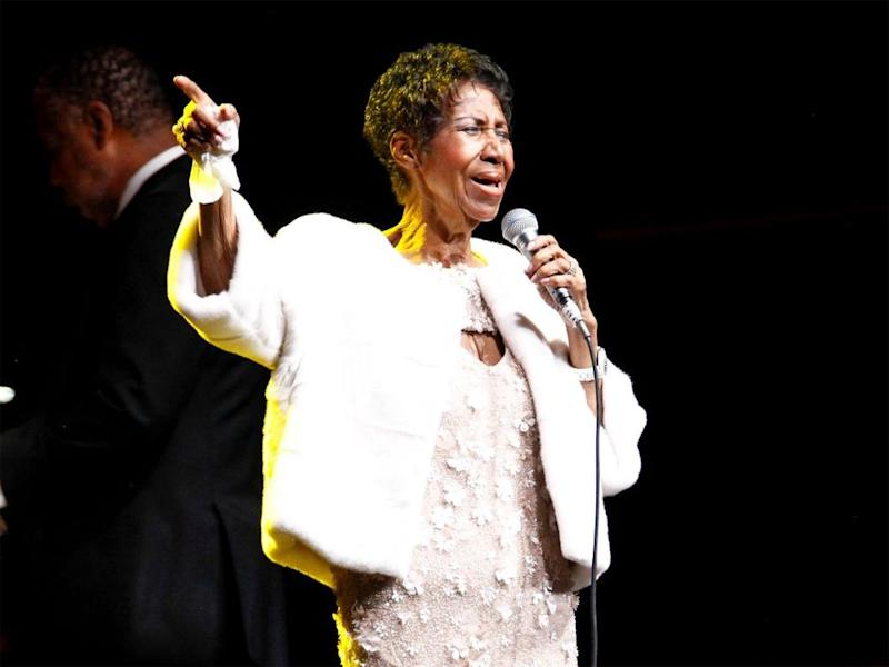 Aretha Franklin in November