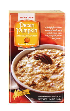 """<p><span class=""""redactor-invisible-space"""">For a slightly healthier pumpkin breakfast, this whole grain oatmeal is your best bet.</span></p>"""