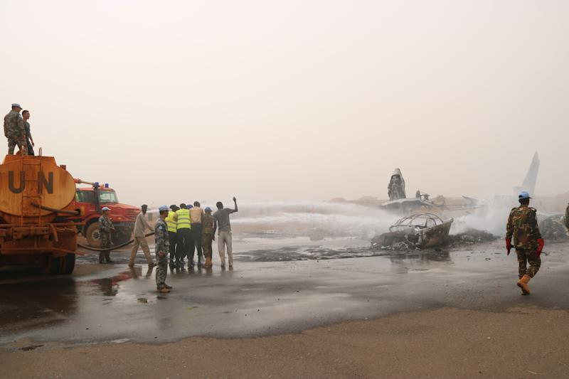 A Passenger Plane Crash-Landed and Burned in South Sudan but All 49 People Onboard Survived