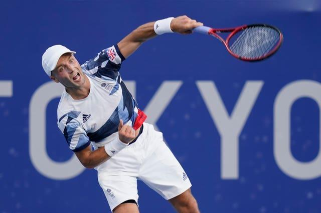 Liam Broady's fine run ended in the third round
