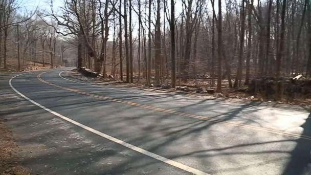 PHOTO: A young woman's bound body was discovered in a suitcase along the side of a road in Greenwich, Conn., Feb. 5, 2019. (WABC)