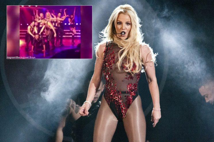 Britney Spears during her Piece of Me tour (C.M. Wiggins/WENN.com)