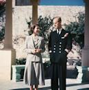 <p>In Malta during their honeymoon, where Prince Philip was stationed with the navy.</p>