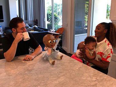 Australian Open 2019: Serena Williams ensured daughter's first doll was black as she rarely saw one growing up