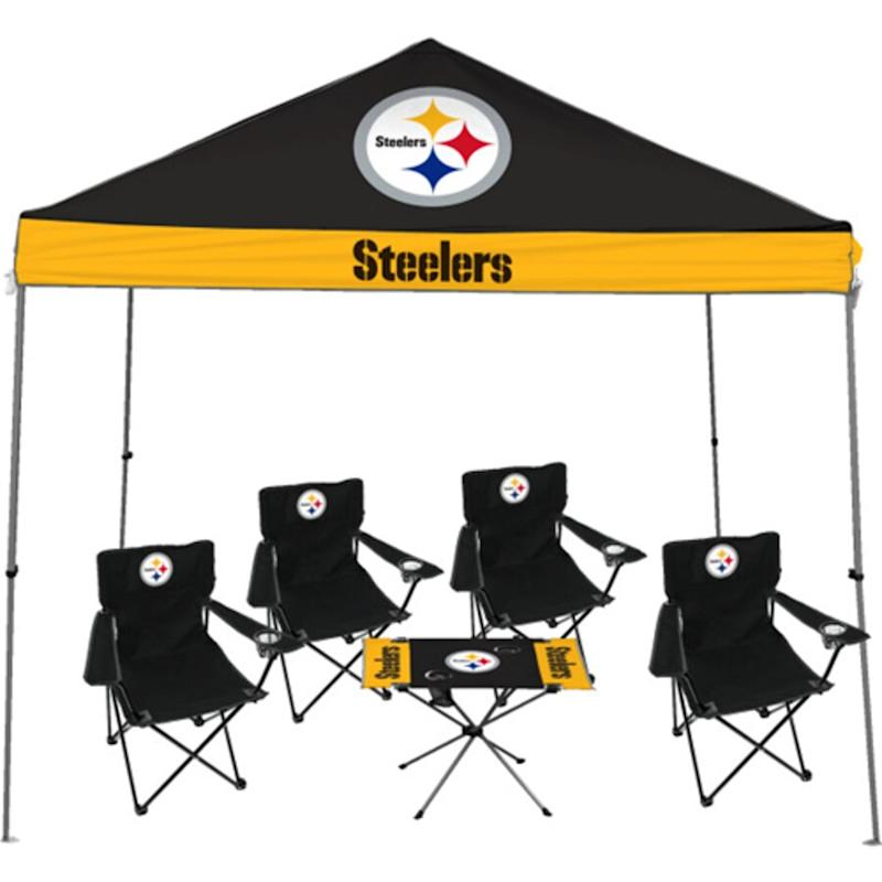 Rawlings Pittsburgh Steelers Large Tailgate Kit