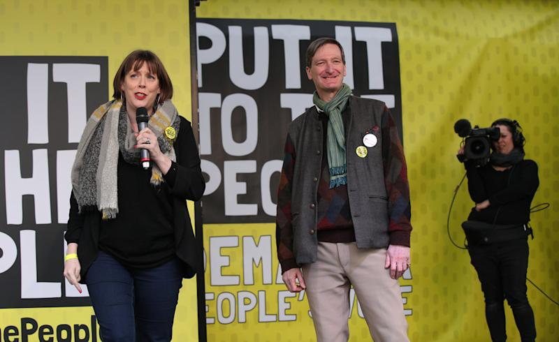 Labour MP Jess Phillips and Tory MP and former Attorney General Dominic Grieve