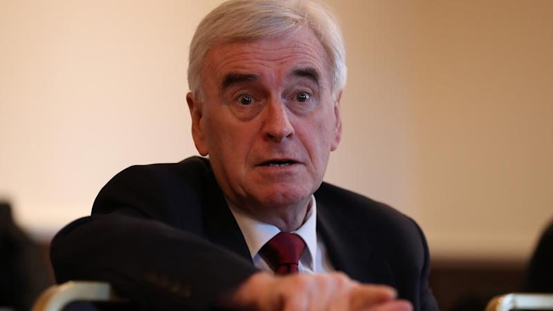 <p>Shadow chancellor John McDonnell made the pledge during a visit to Scotland.</p>