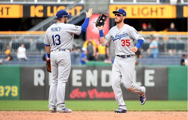Cody Bellinger is emerging as a two-way superstar for the Dodgers. (Photo by Justin Berl/Getty Images)
