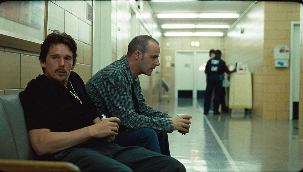 "<a href=""http://movies.yahoo.com/movie/contributor/1800021968"">Ethan Hawke</a> and Brian F. O'Byrne in Overture Films' <a href=""http://movies.yahoo.com/movie/1810028049/info"">Brooklyn's Finest</a> - 2010"