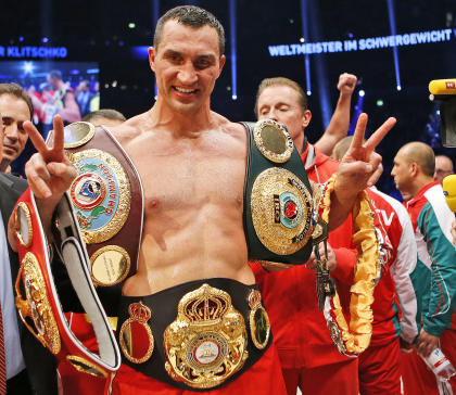 Heavyweight champ Wladimir Klitschko has made 18 consecutive successful title defenses. (AP)