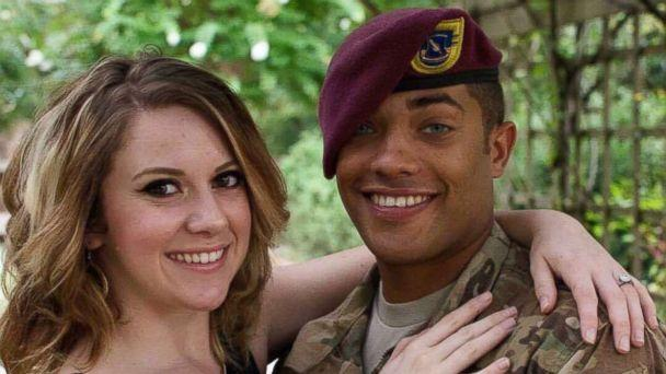 PHOTO: Britt Harris, 26, found out she was pregnant just before her husband, U.S. Army Specialist Chris Harris, died in Afghanistan. (Britt Harris)