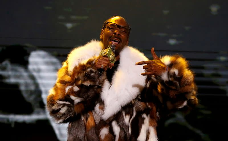FILE PHOTO: Rapper Snoop Dogg performs at the 6th annual REVOLT Global Spin Awards in Los Angeles