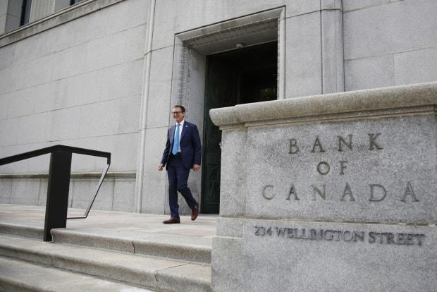 The Bank of Canada slashed its benchmark interest rate to help stimulate the economy during the COVID-19 pandemic. (David Kawai/Bloomberg - image credit)