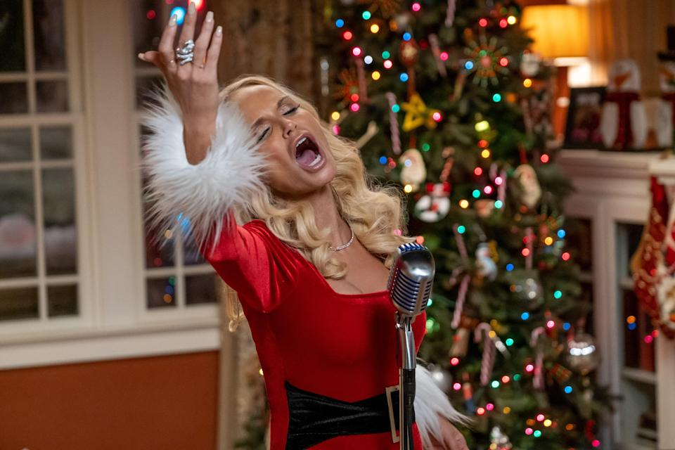 Okay, so <em>Holidate</em> isn't only a Christmas movie—but the holiday does feature prominently and gives Kristin Chenoweth a chance to shine as the hilarious and raunchy Aunt Susan. Bonus: You get to celebrate a bunch of other festive occasions with Emma Roberts and Luke Bracey too.