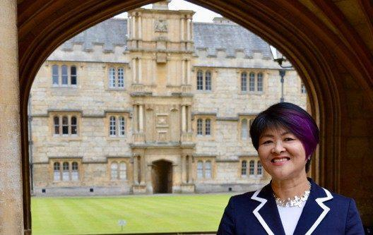 Prof Mindy Chen-Wishart said it was 'alienating' and 'exhausting' to be constantly challenged for looking 'out of place'