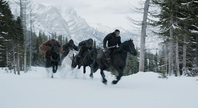 'War for the Planet of the Apes' has a Western vibe (20th Century Fox)