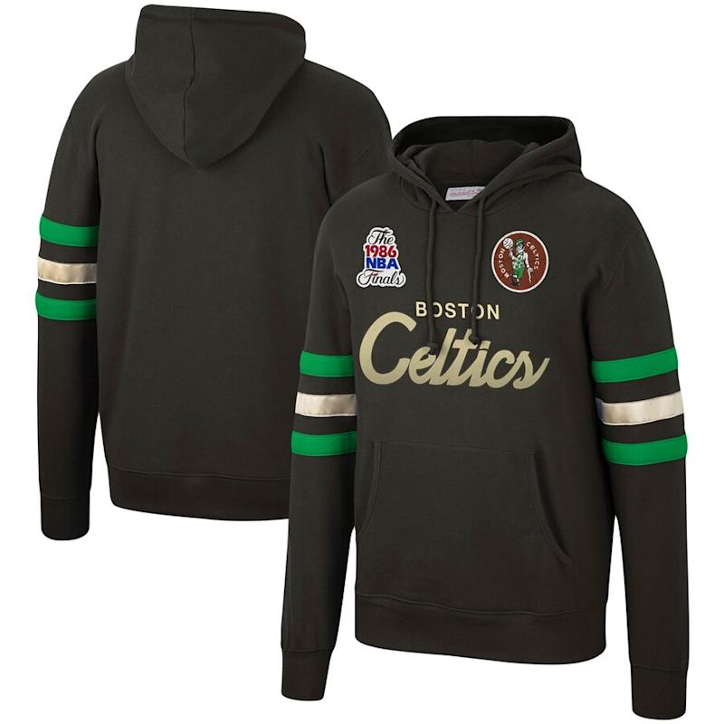 Celtics 1986 Finals Championship Game Pullover Hoodie