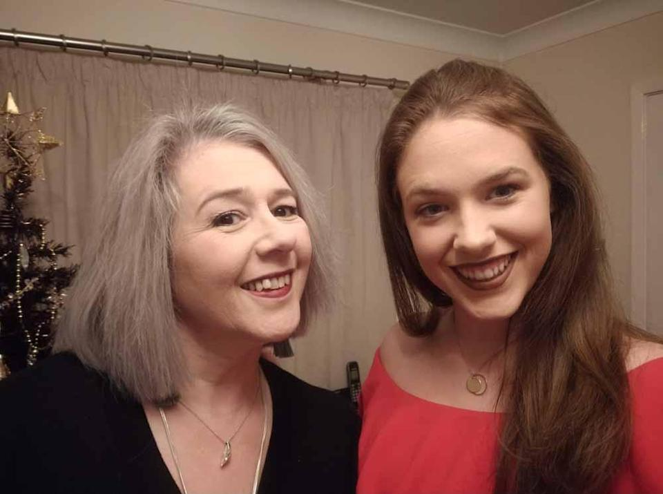 Amanda and her daughter Alex. PA REAL LIFE COLLECT