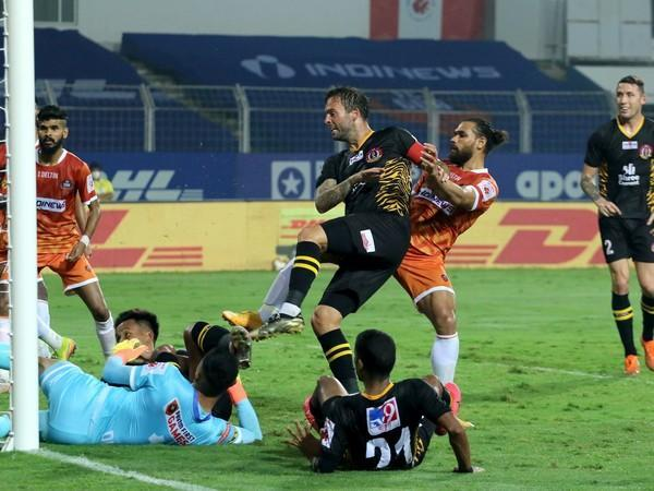 SC East Bengal defender Daniel Fox (Photo/ ISL)