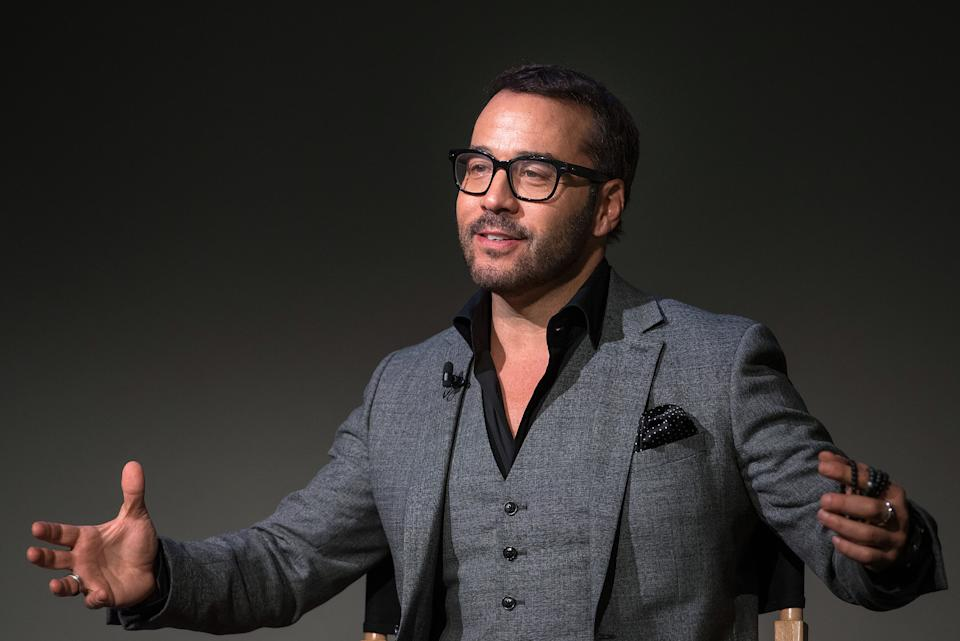 NEW YORK, NY - MARCH 20:  Actor Jeremy Piven attends the Apple Store Soho Presents Meet The Cast:  Jeremy Piven,