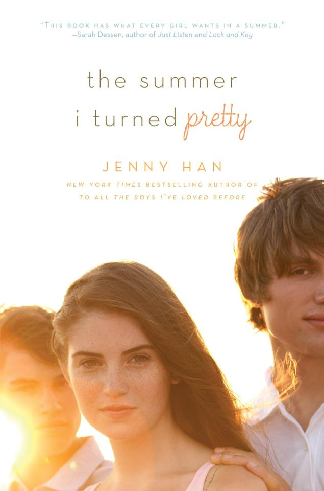 """<p>From <strong>To All the Boys I've Loved Before</strong> author Jenny Han, <strong><product href=""""http://www.amazon.com/Summer-I-Turned-Pretty/dp/1416968296"""" target=""""_blank"""" class=""""ga-track"""" data-ga-category=""""Related"""" data-ga-label=""""http://www.amazon.com/Summer-I-Turned-Pretty/dp/1416968296"""" data-ga-action=""""In-Line Links"""">The Summer I Turned Pretty</product></strong> revolves around Belly, who has spent every summer since childhood in Cousins Beach with Jeremiah and Conrad Fisher, the sons of her mom's BFF. Though her relationship with the Fisher brothers had always been platonic (save for her crush on the older of the two brothers, Conrad), there finally comes a summer when the Jeremiah and Conrad no longer see Belly as their """"little sister."""" </p>"""