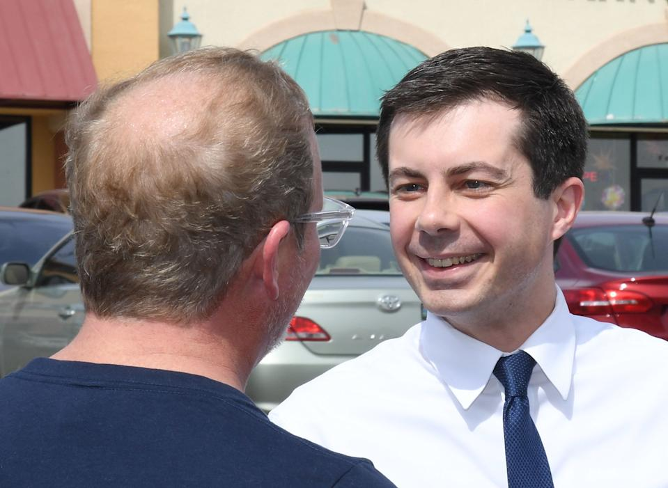 South Bend, Ind., Mayor Pete Buttigieg. (Photo: Ethan Miller/Getty Images)