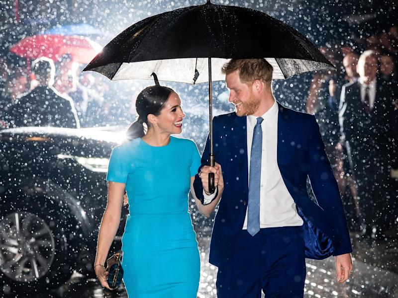 Related video: Meghan and Harry are back for final flurry of royal duties (WireImage)