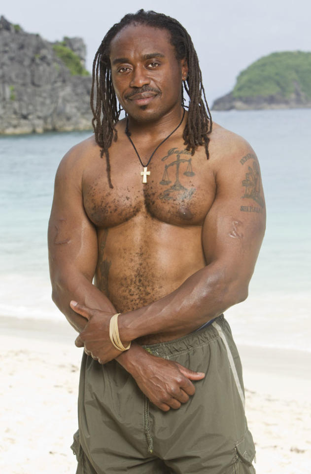 "<b>Russell Swan </b>	<br><br> <b>Reason for being on ""Survivor"":</b> First, the game kicked my butt and I want payback. Second, I want to show people that failure doesn't always mean the end.<br><br>  <b>Why you think you'll win ""Survivor"":</b> Because I've already tried the failure route. I'm gonna take a different path and win this time! <br><br>  <b>If you could have three things on the island, what would they be and why? </b><br> I would bring my ""Terrible Towel"" because I'm an avid Steelers fan and I'm always looking for converts. That's it!"